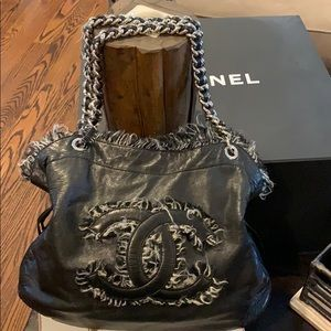 Chanel Authentic Bob Bon Tote tweed